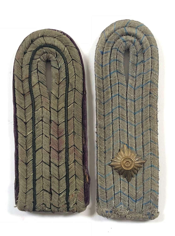 WW1 Imperial German Shoulder Straps.