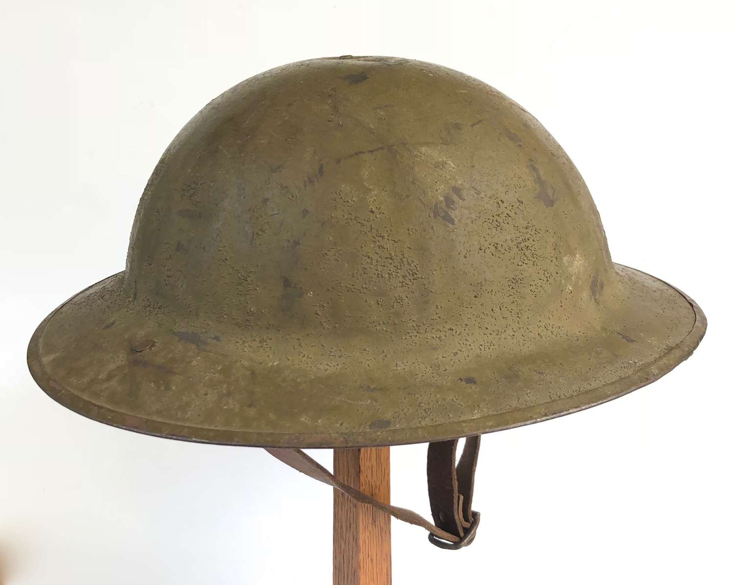 WW1 Superb British Army Issue Brodie Steel Helmet.