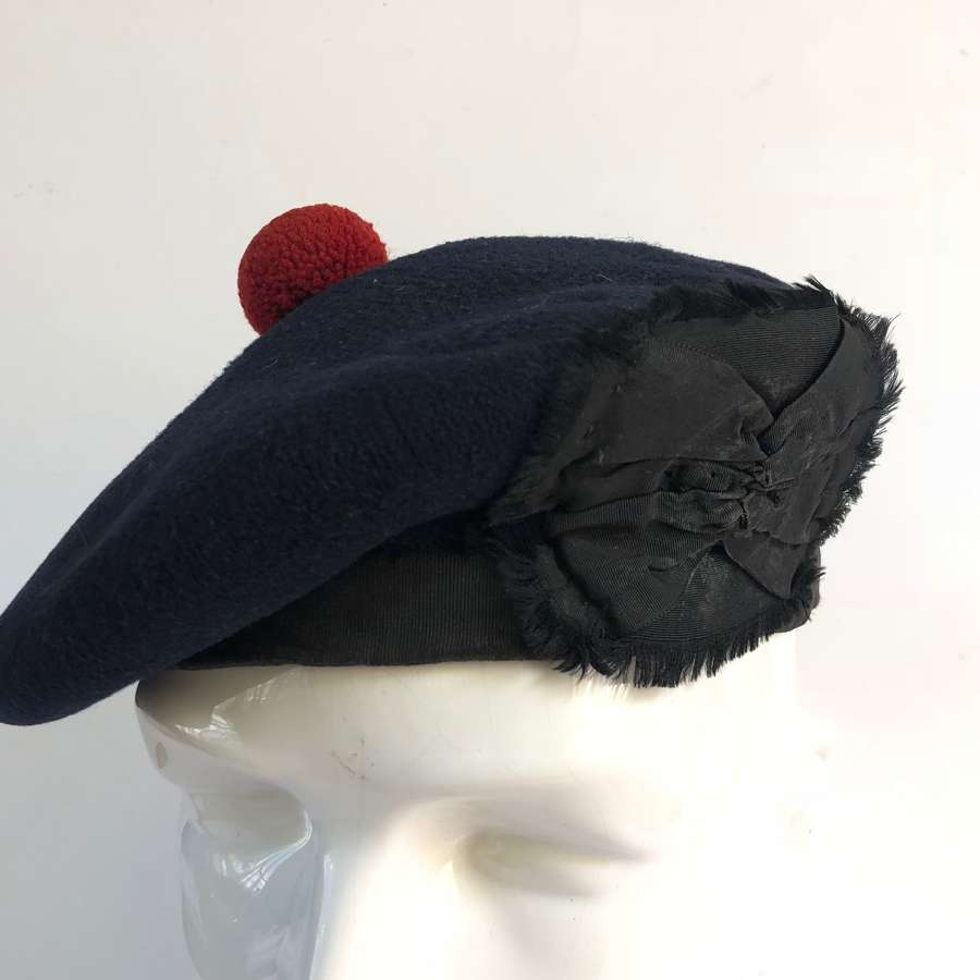 WW1 Period Tam-o-Shanter Hat.