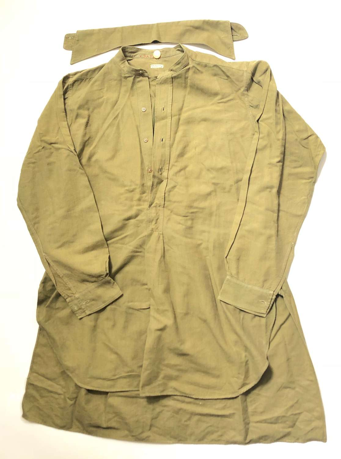 WW1 Period British Army Officer's Shirt.