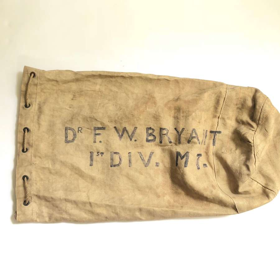 WW1 1914 Dated Army Service Corps Kit Bag.