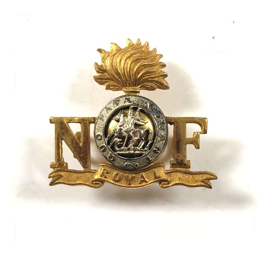 Royal Northumberland Fusiliers Officer's Shoulder Title.