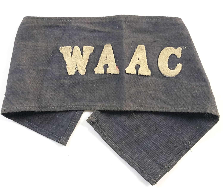 WW1 Women's Army Auxiliary Corps WAAC Armband.