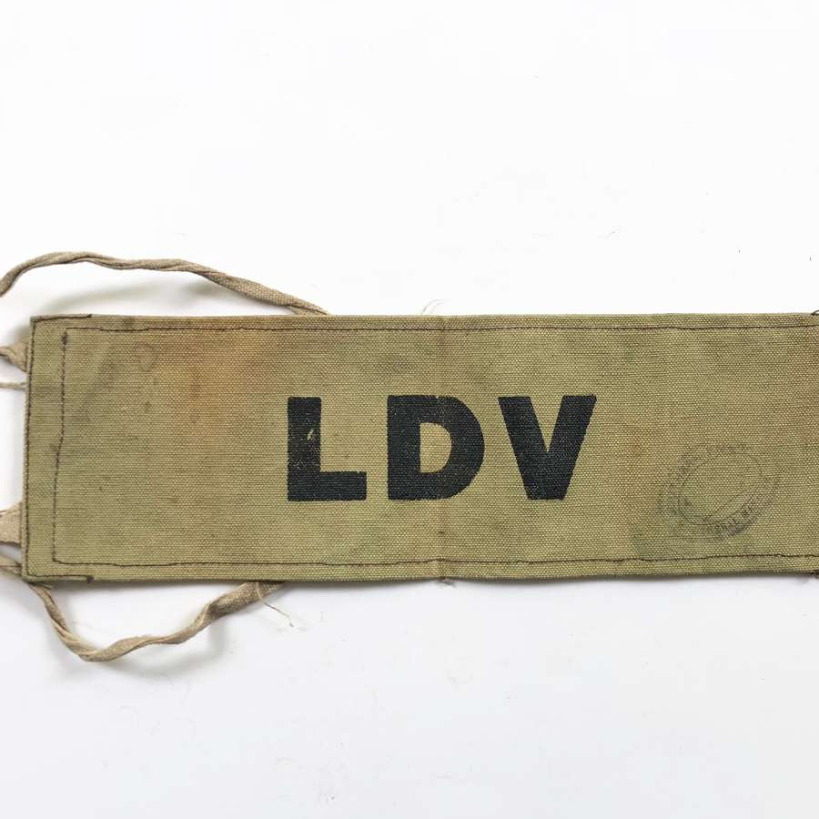WW2 Local Defence Volunteer (Home Guard) Variant Armband.