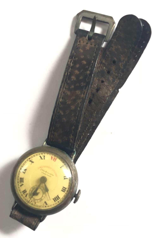 WW1 / WW2 Style Wrist Watch & Period Strap.