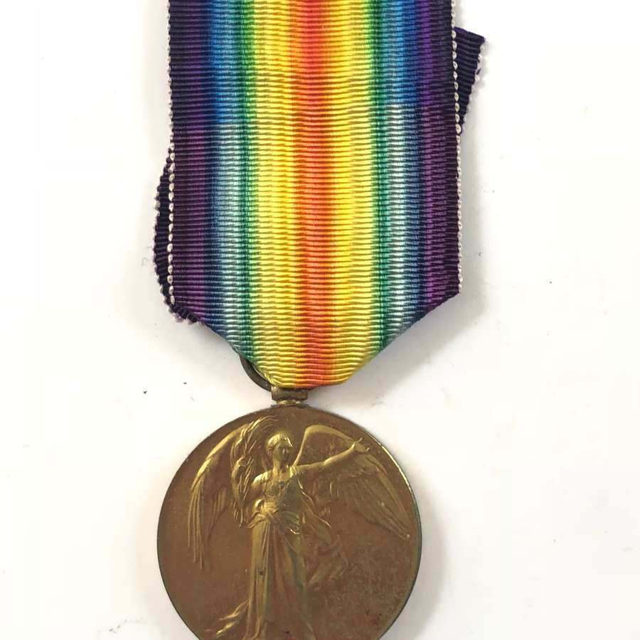 WW1 9th Bn London Regiment Casualty Victory Medal