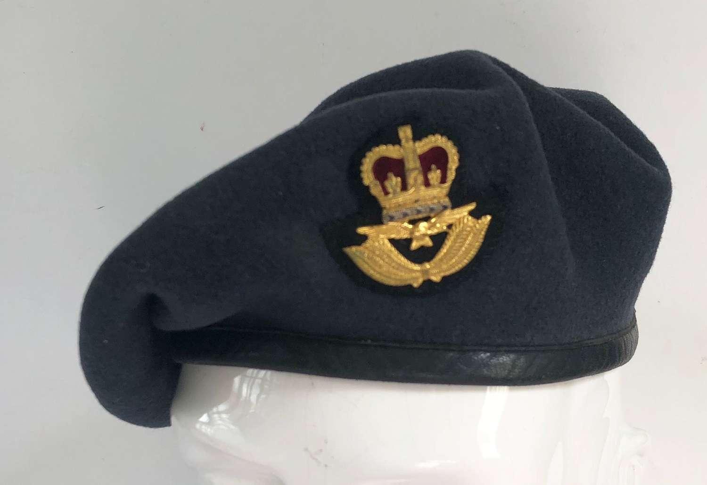 RAF Cold War Period Officer's Beret.