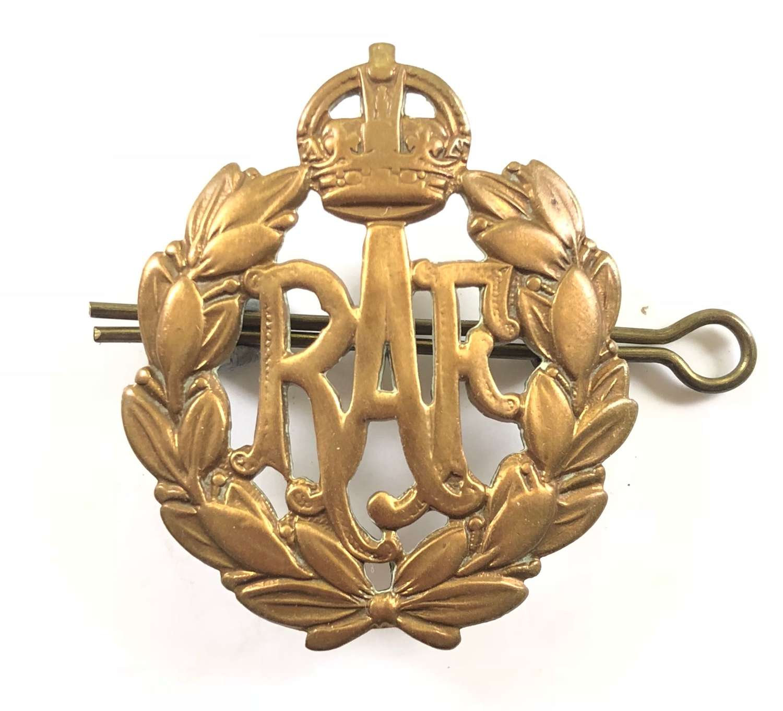 WW2 RAF Other Rank's Cap Badge.