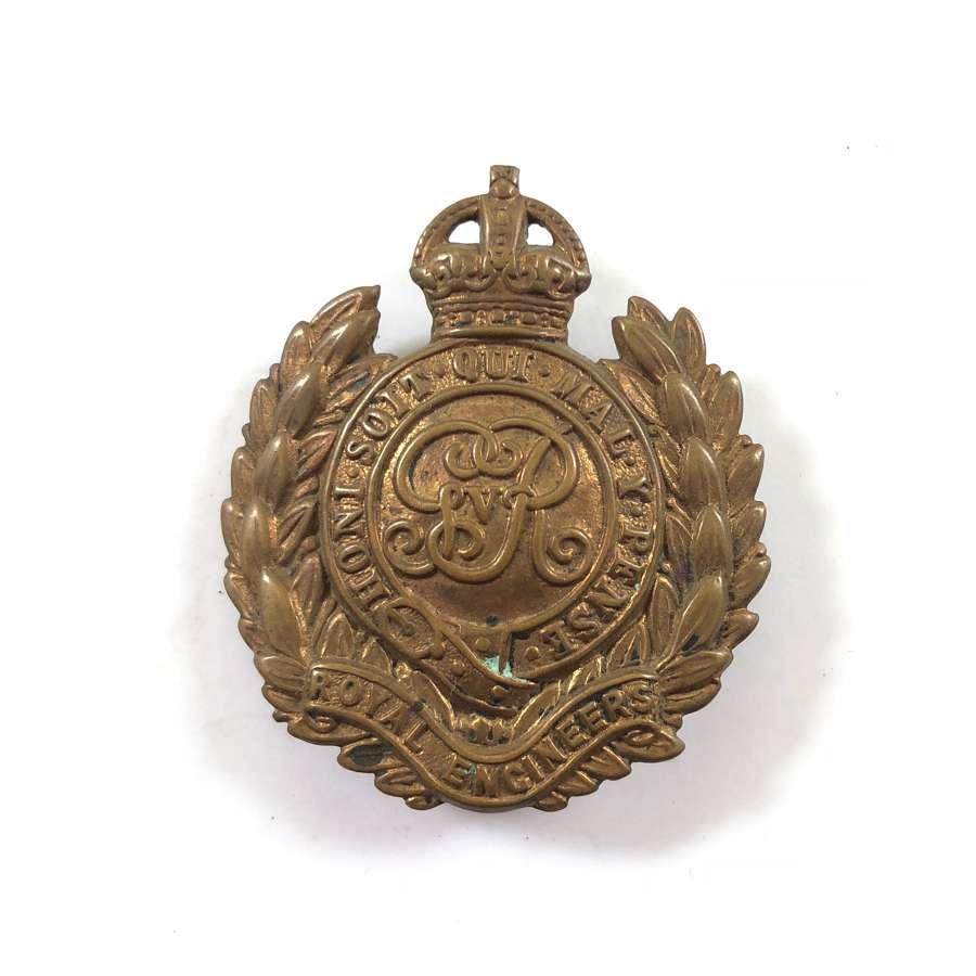 WW1 Royal Engineers Economy Cap Badges.