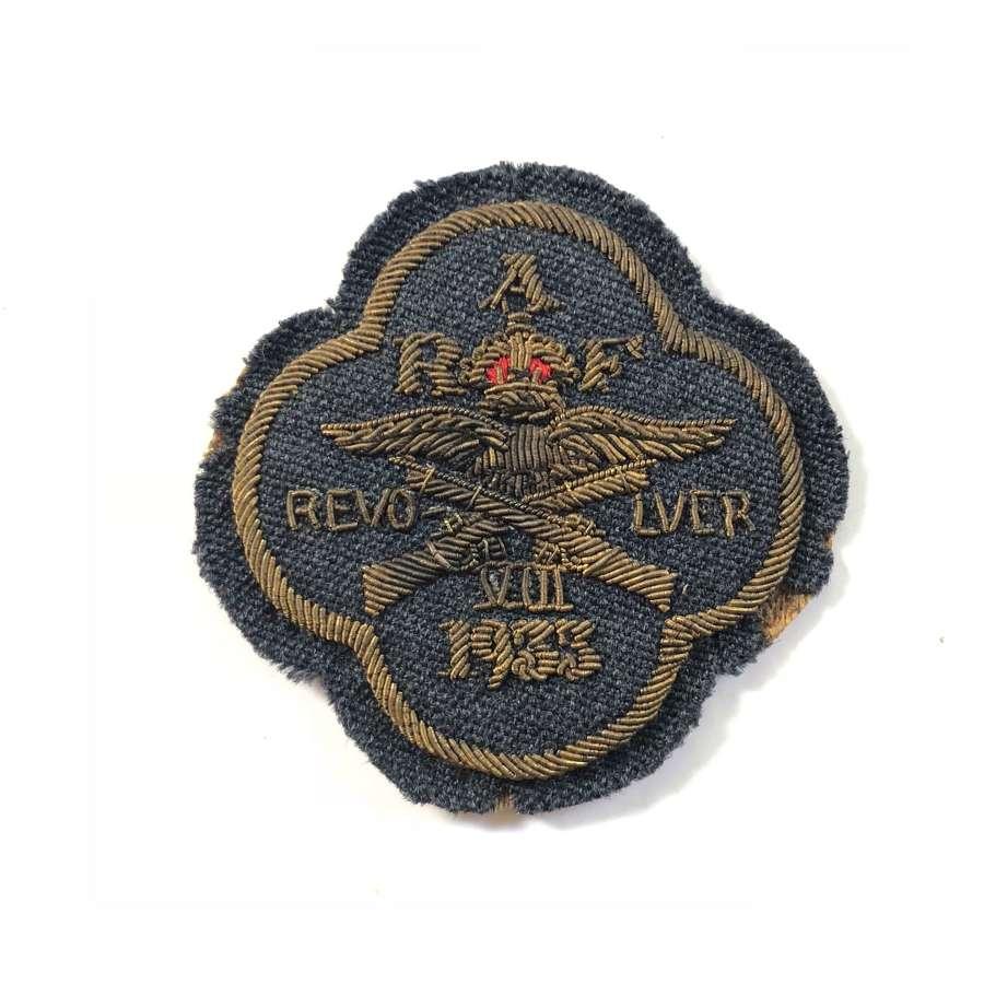 RAF 1933 Revolver Shooting Team Badge.