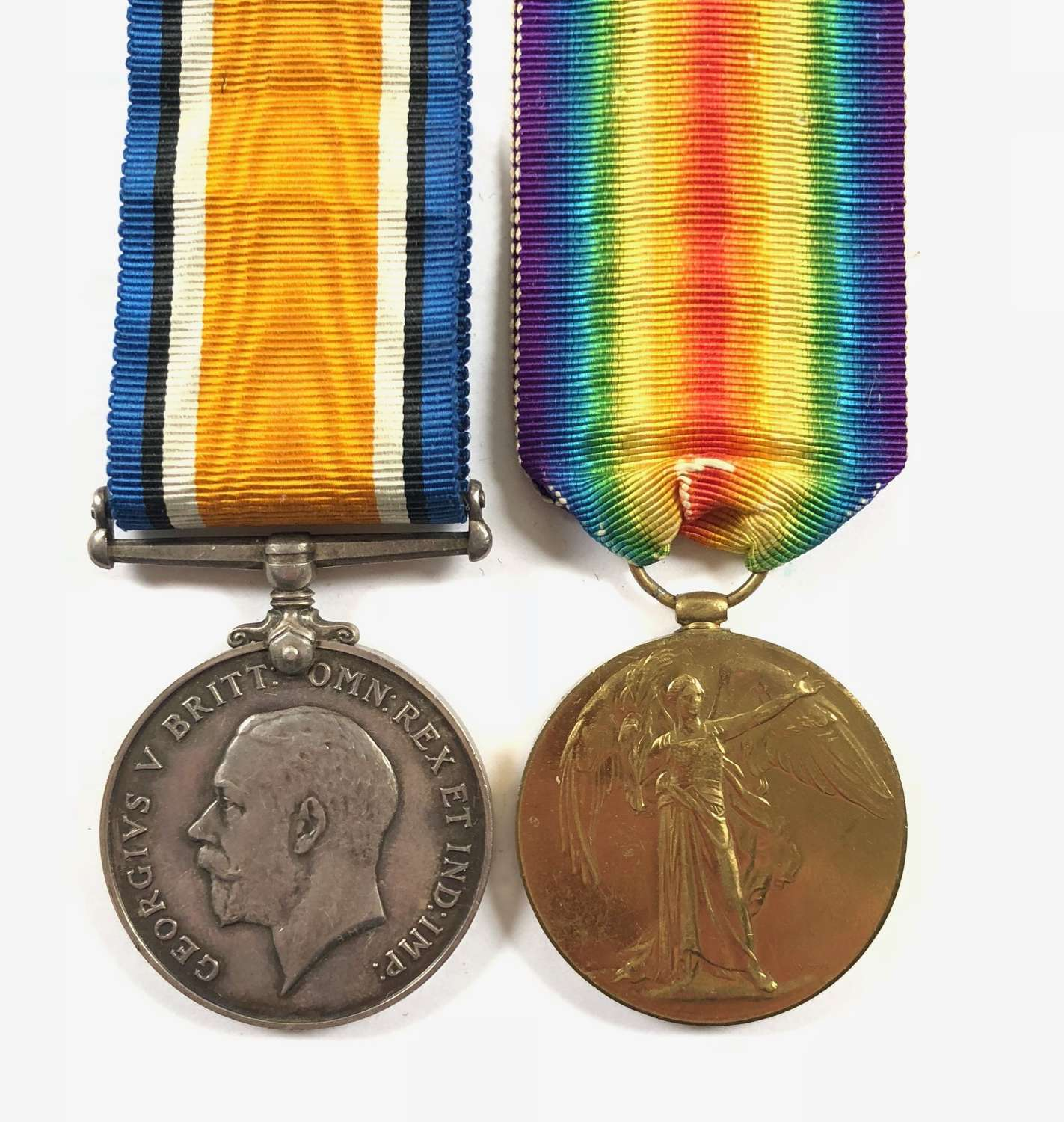 WW1 RFC / RAF Medal Pair.
