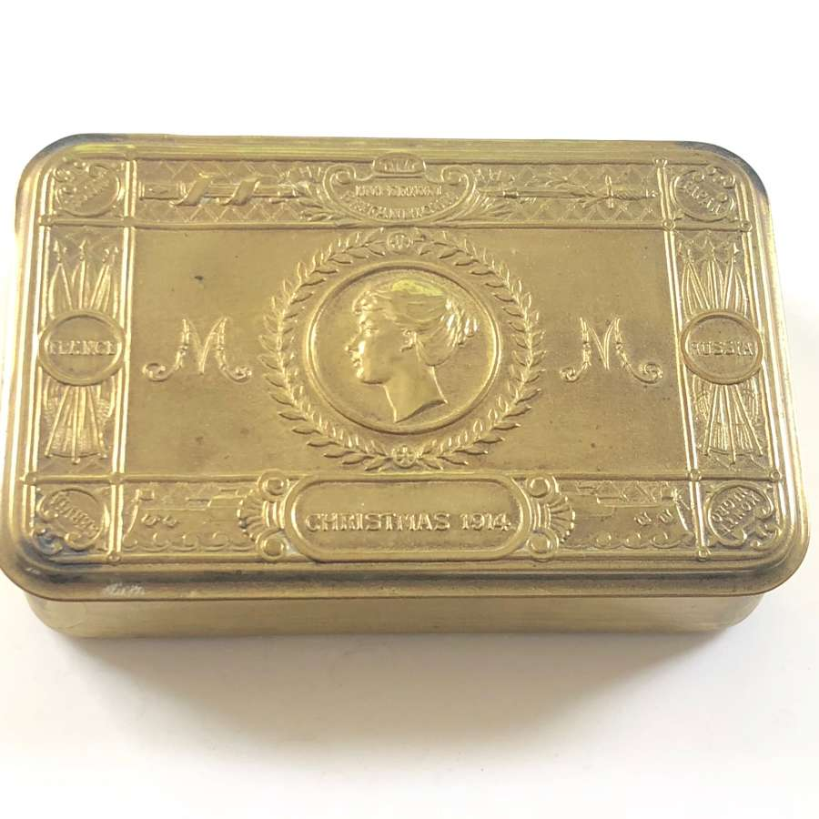 WW1 Princess Mary 1914 Gift Tin.