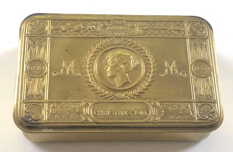 WW1 Princess Mary 1914 Gift Tin.