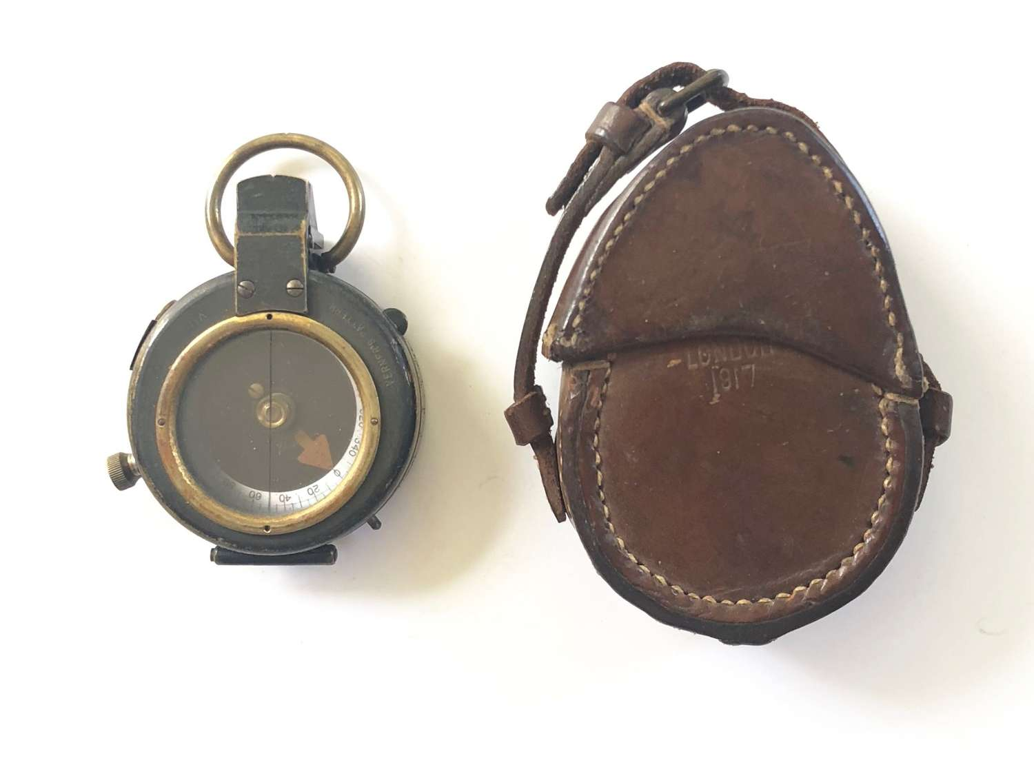 WW1 1917 Officer's Marching Compass.
