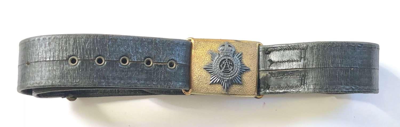 Edwardian / George V Army Service Corps Officer's Belt.