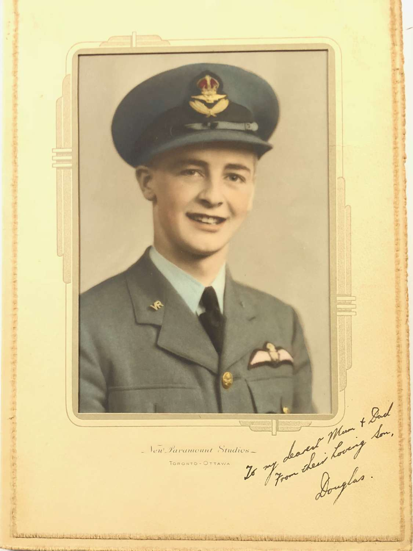 WW2 RAF Pilot Photograph.
