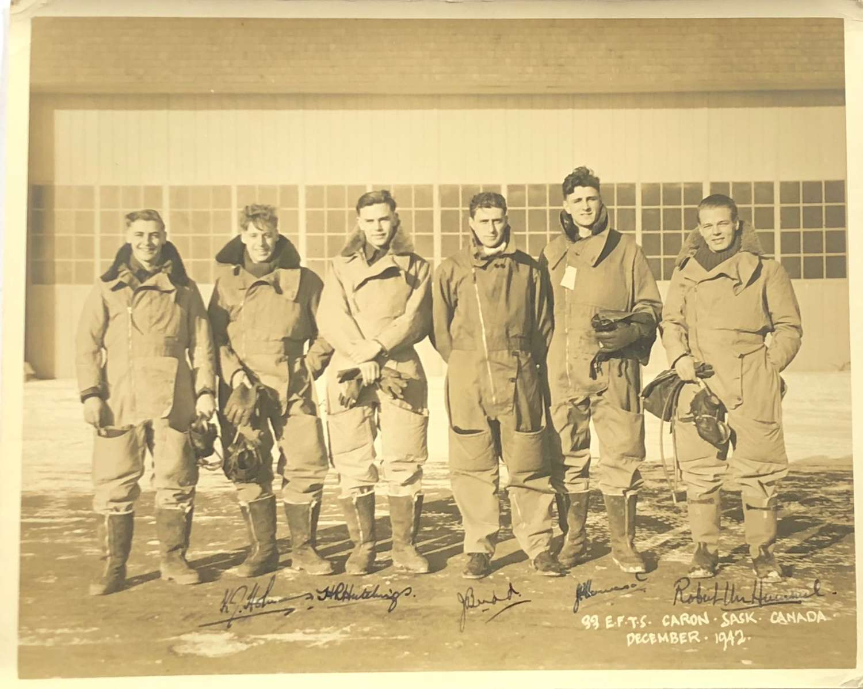 WW2 RAF Pilots Group Photograph.