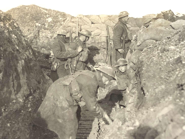 WW1 York & Lanc Regiment Original Press Photograph.