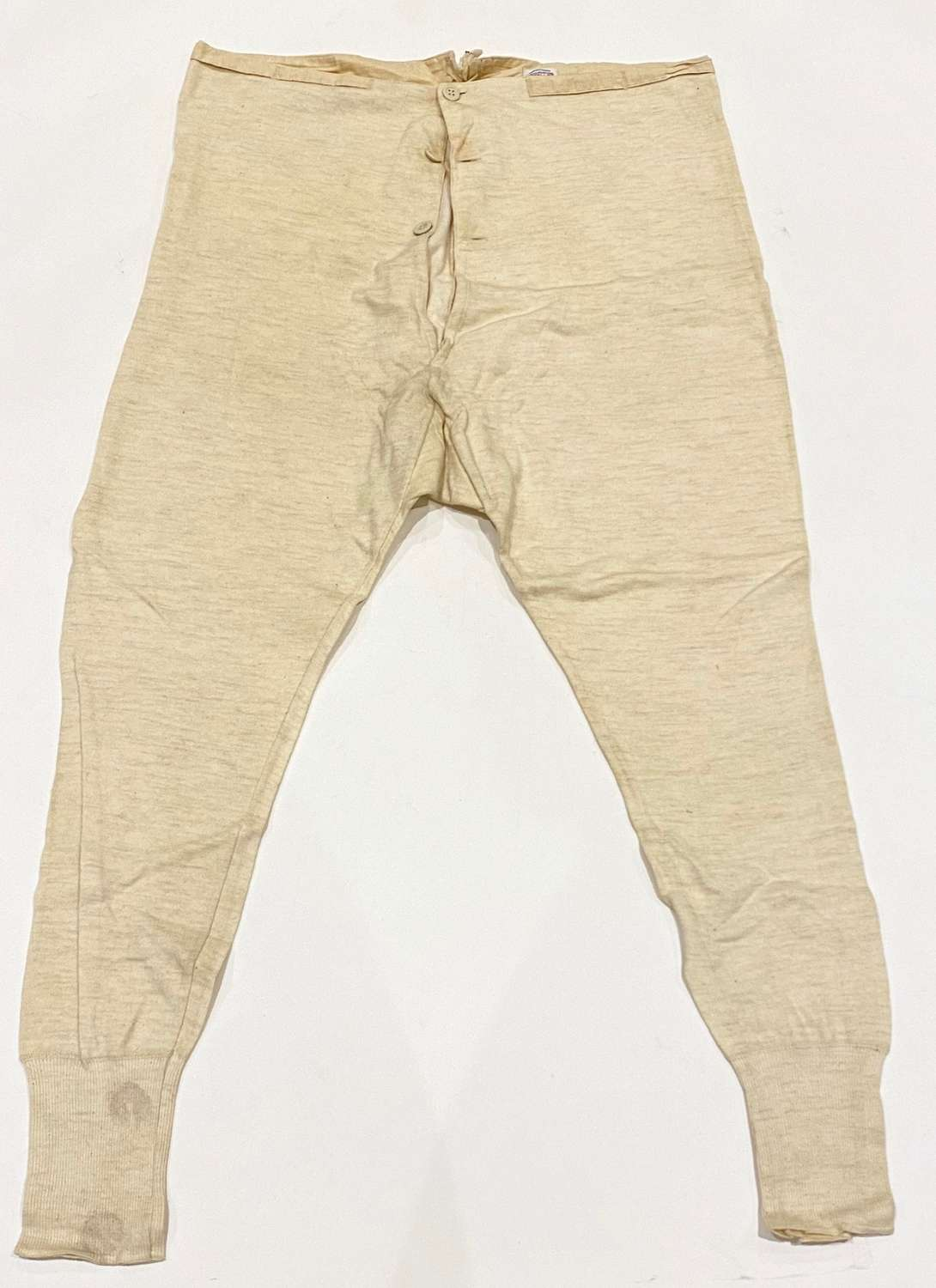 WW1 / WW2 Pattern Officer's Private Purchase Long Johns.