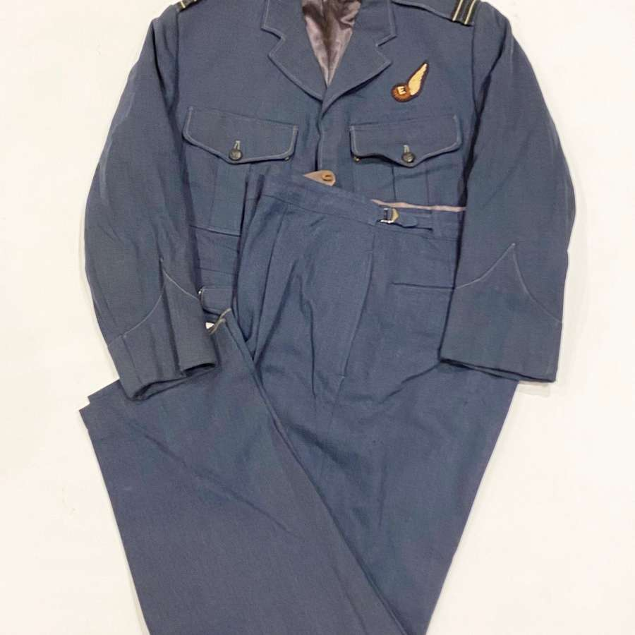 RAF Cold War Period Flight Engineers Battledress Uniform.