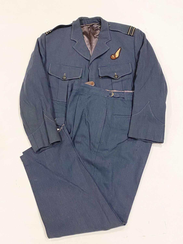 RAF Cold War Period Flight Engineers Battledress Uniform.