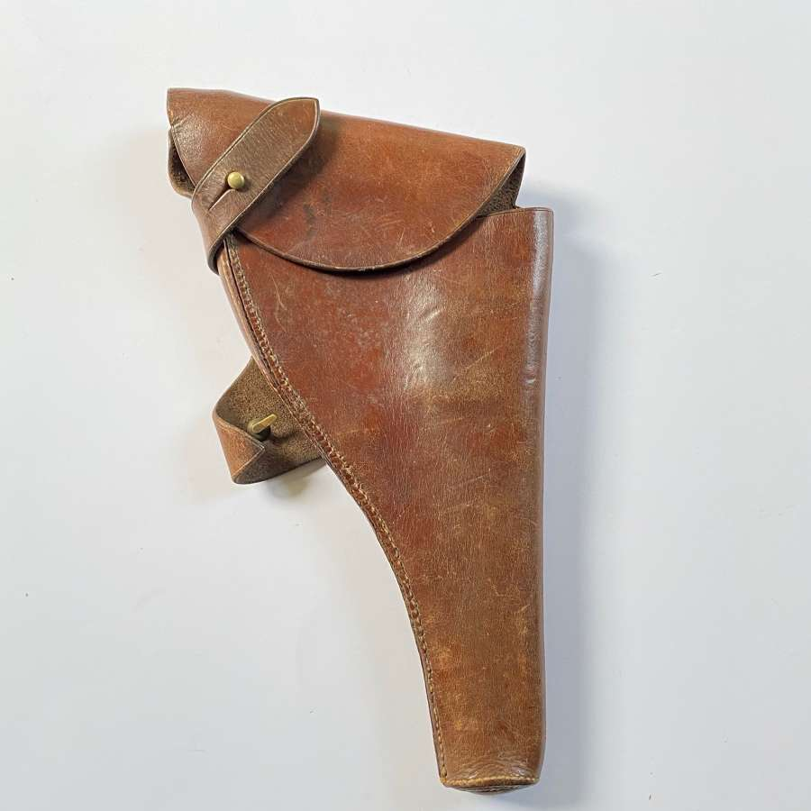 WW1 1914 Officer's / SNCO's Polished Brown Issue Holster.