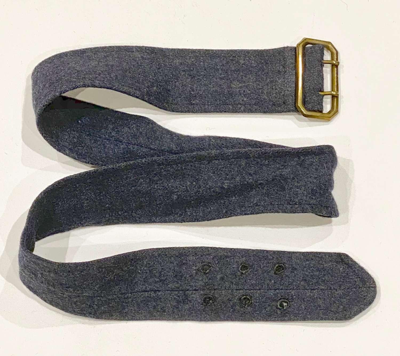 WW2 Period RAF Other Ranks Tunic Belt.