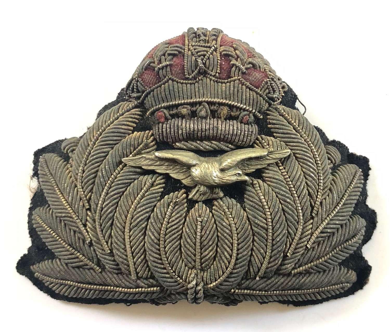 WW1 RNAS Royal Naval Air Service 1914-1918 Officer's Cap Badge