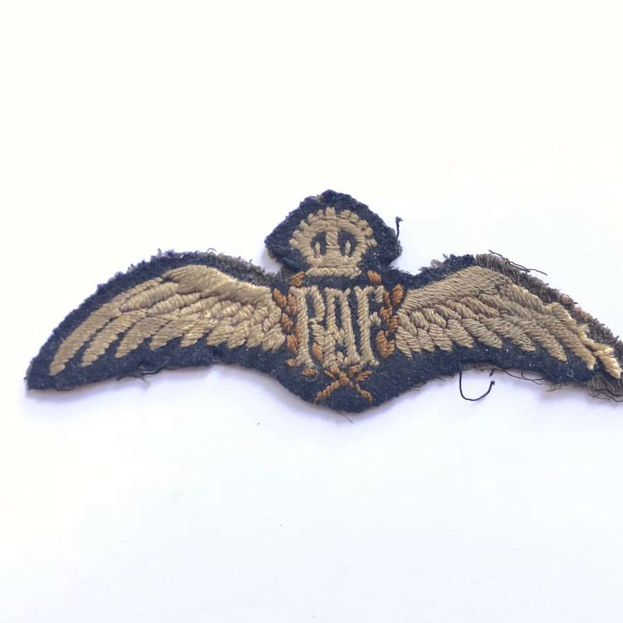 WW1 RAF Pilot Wings, Circa 1918.