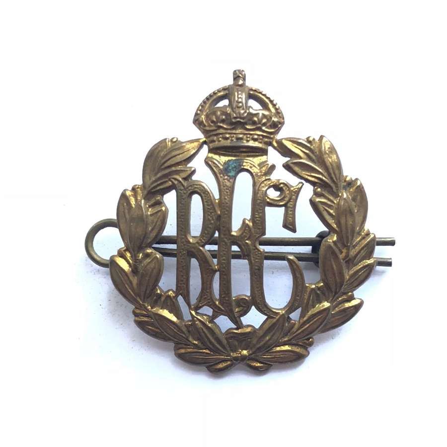 WW1 Royal Flying Corps RFC Cap Badge.