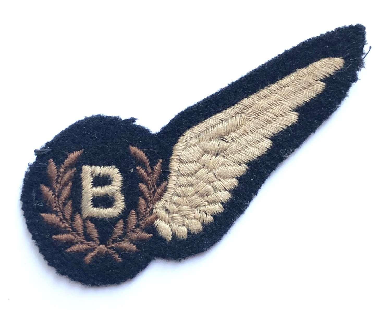 WW2 Period Bomb Aimer Brevet Badge.