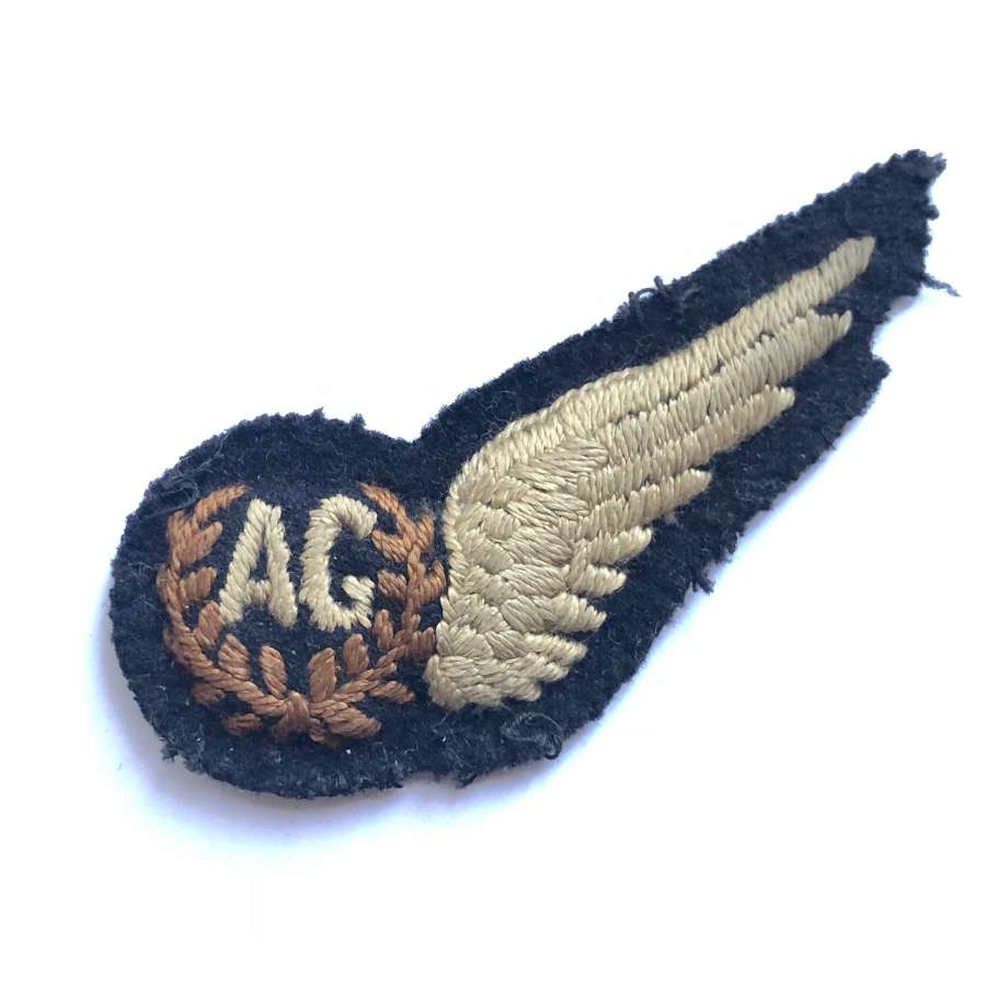 WW2 Air Gunner's Brevet Wing Badge.