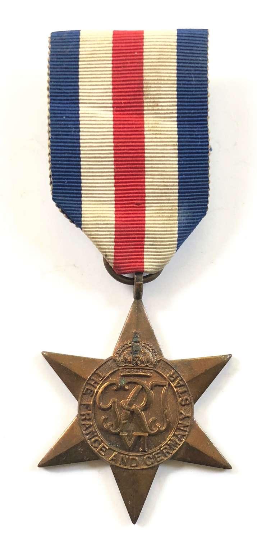 WW2 French & Germany Star.