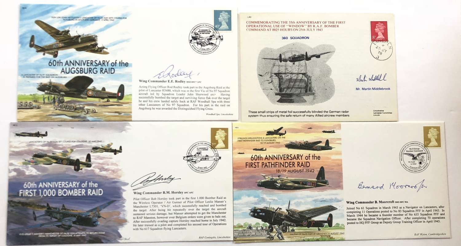 RAF Interest Signed First Day Covers.