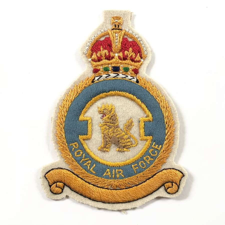 RAF WW2 / Cold War Period 257 Squadron Flying Suit Badge.
