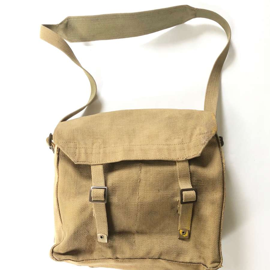 WW2 1944 Dated Webbing Side Pack.
