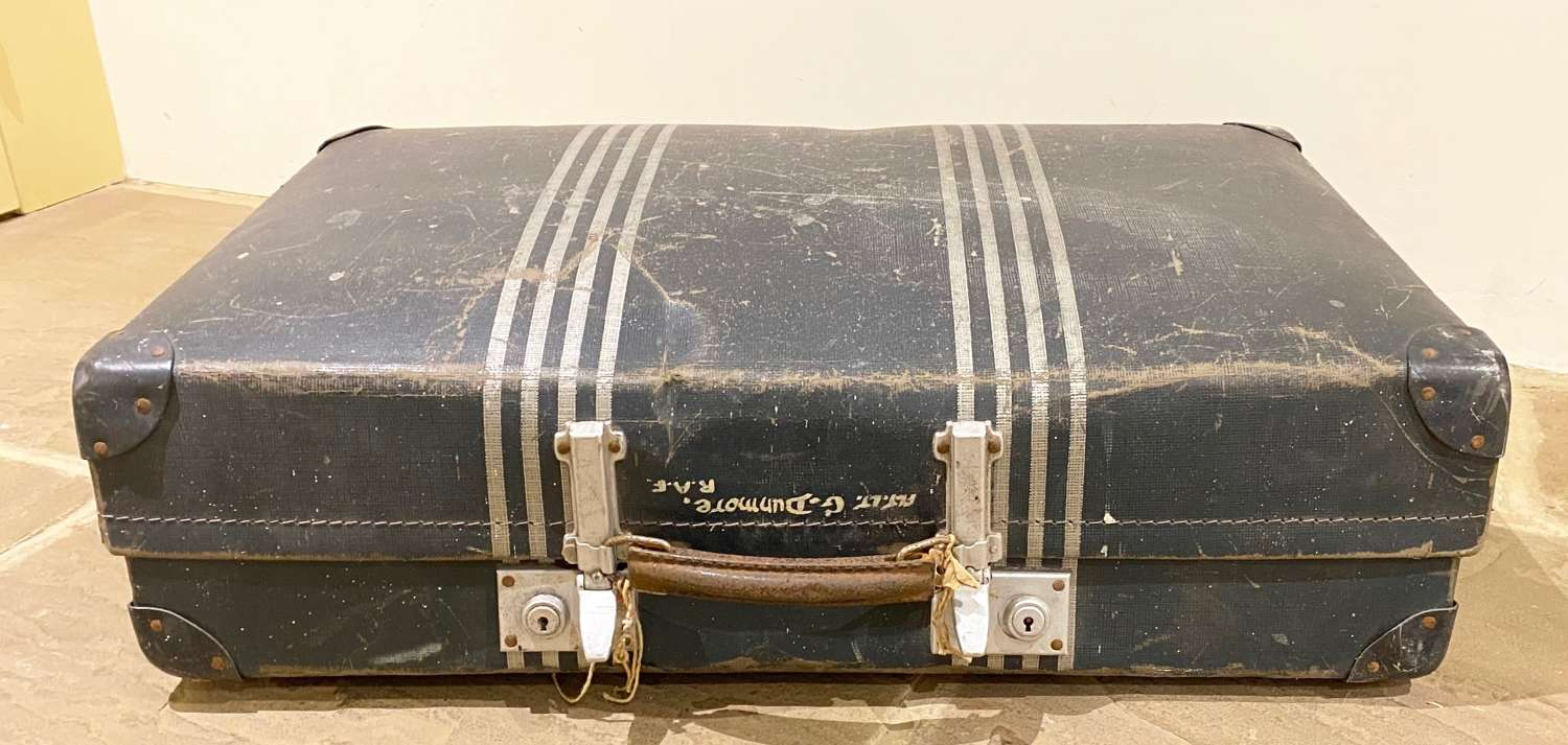 RAF WW2 / Cold War Officer's Suitcase.