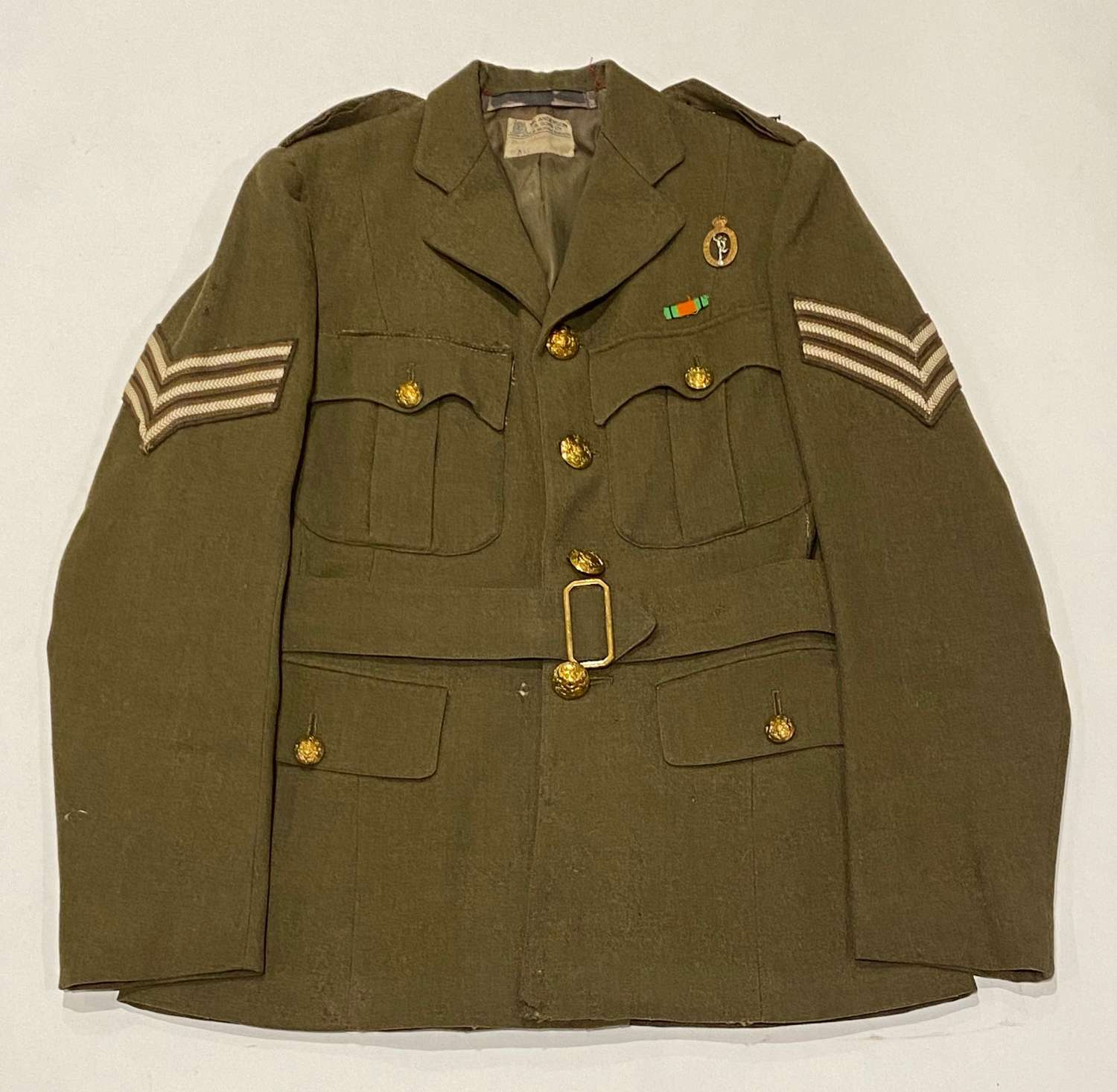 WW2 ATS Royal Corps of Signals Tailored Tunic.
