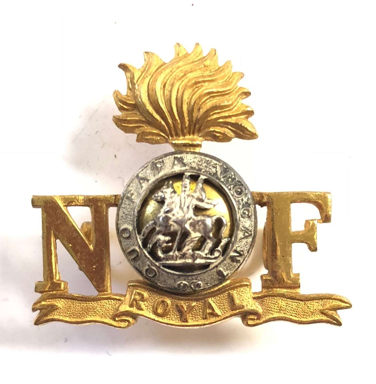 Northumberland  Fusiliers Officer's Post 1935 Officer Should Title