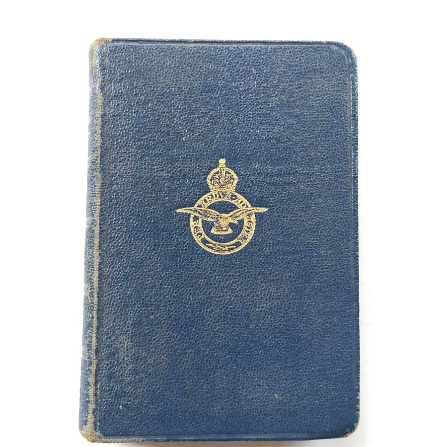 RAF Cold War Active Service Prayer Book.