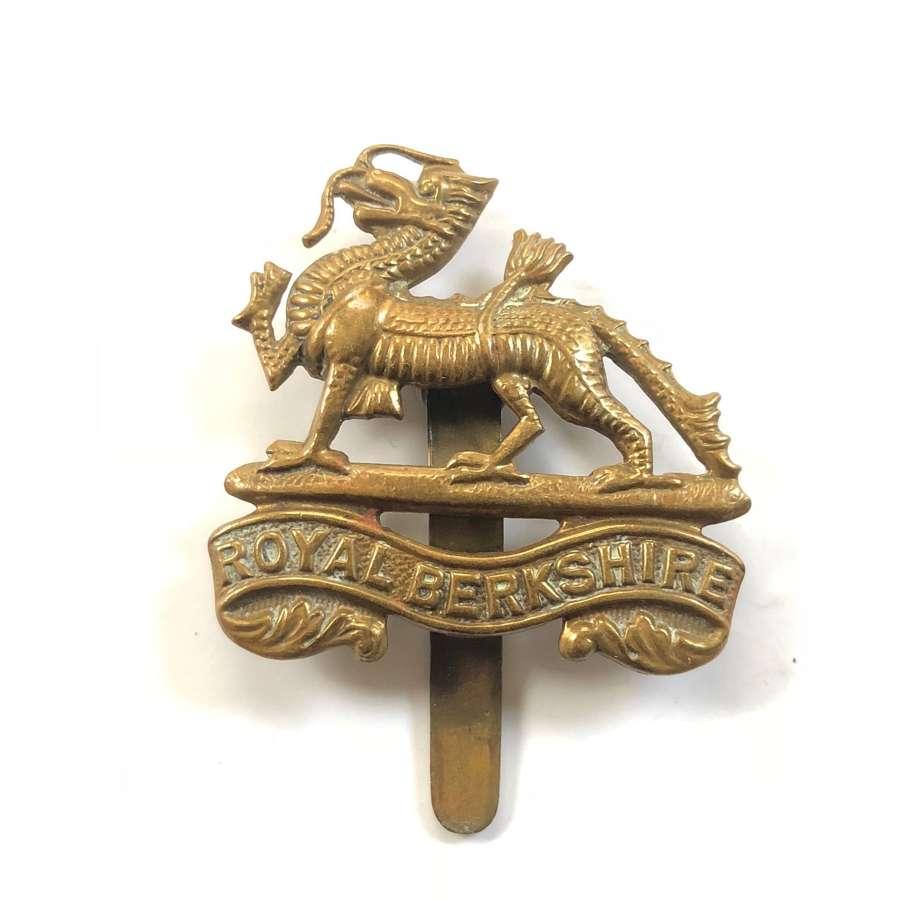 WW1/WW2 Royal Berkshire Regiment Cap Badge