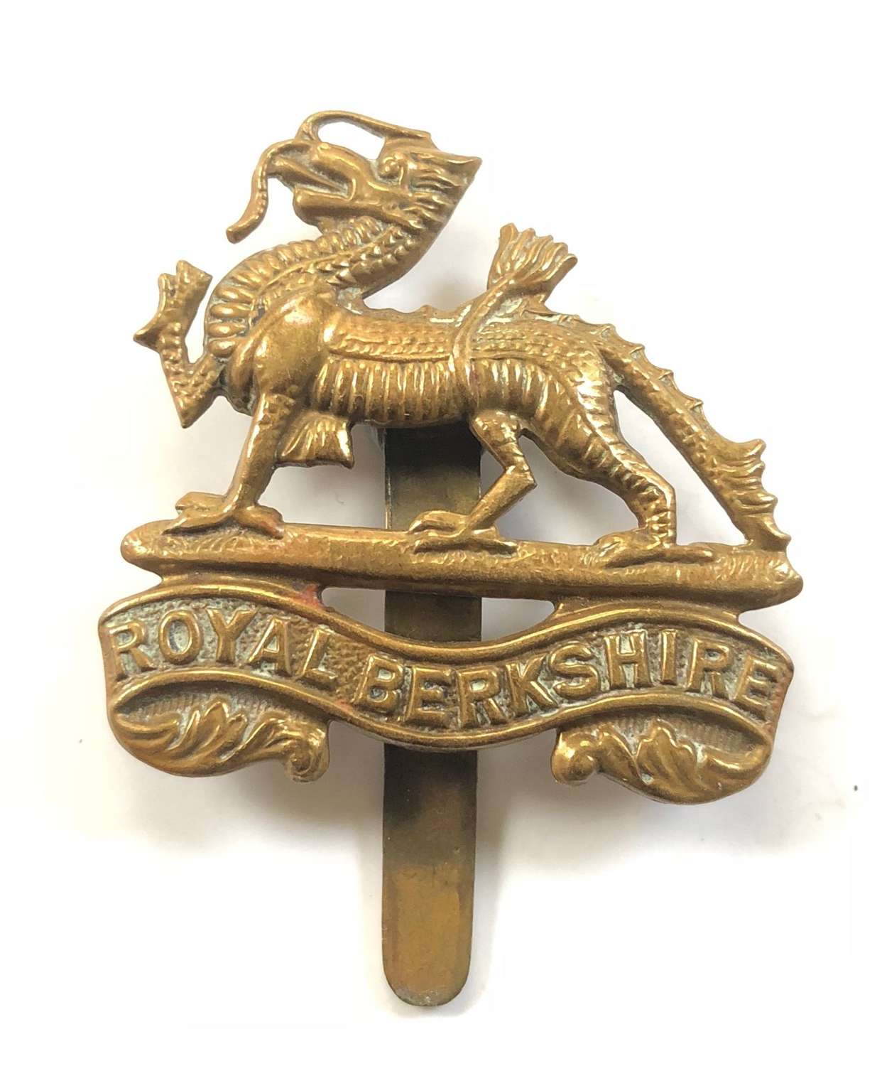 WW1/WW2 Royal Berkshire Regiment Cap Badge