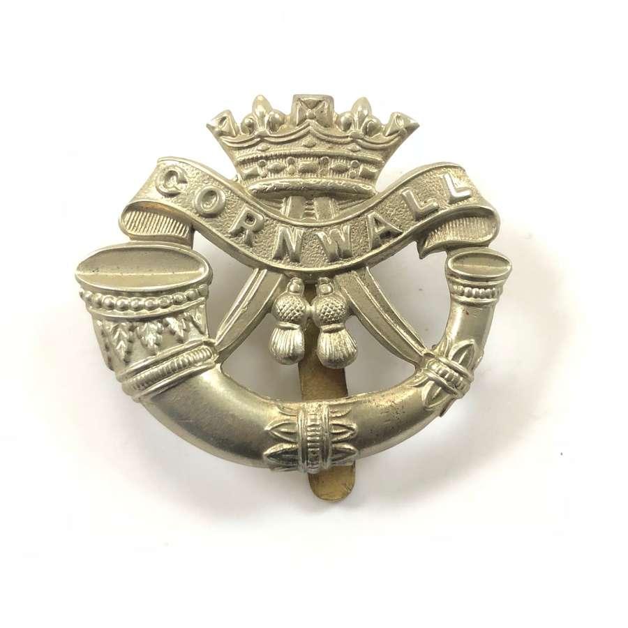 WW1/WW2 Duke of Cornwall's Light Infantry Cap Badge