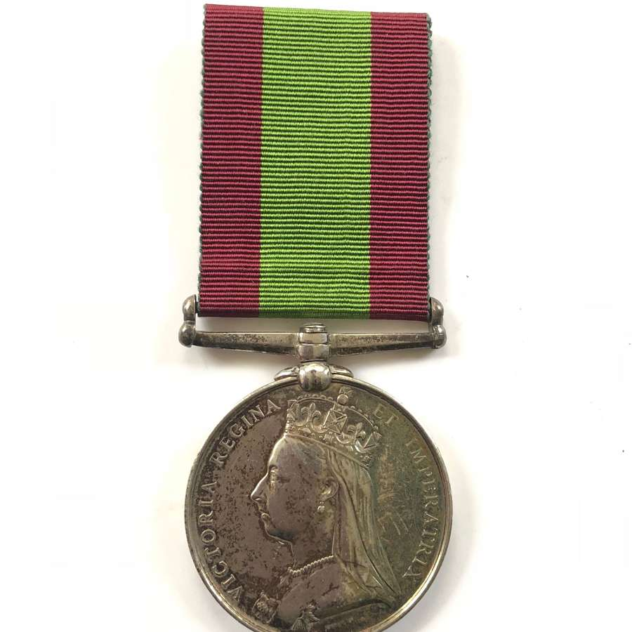 Victorian 11th Foot (Devonshire) Afghanistan War Medal.