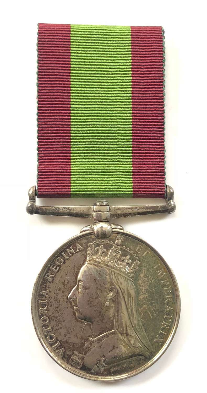 Victorian 11th Foot (Devonshire) Afghanistan War Medal.