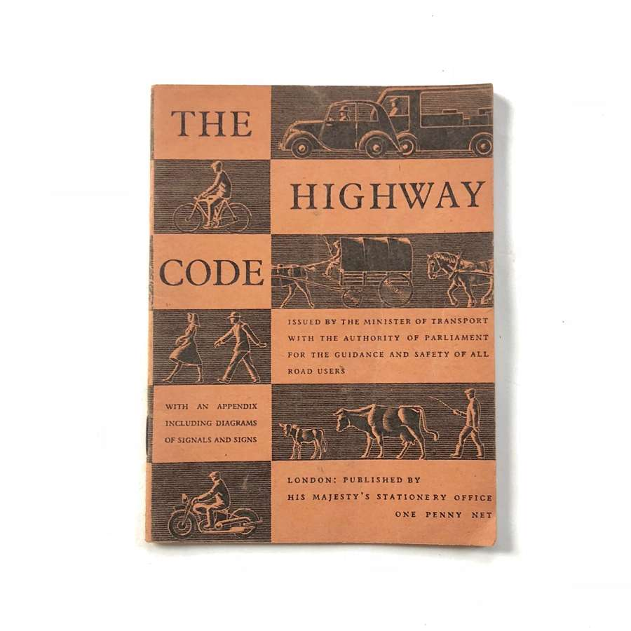 "Early Post War ""The Highway Code"""