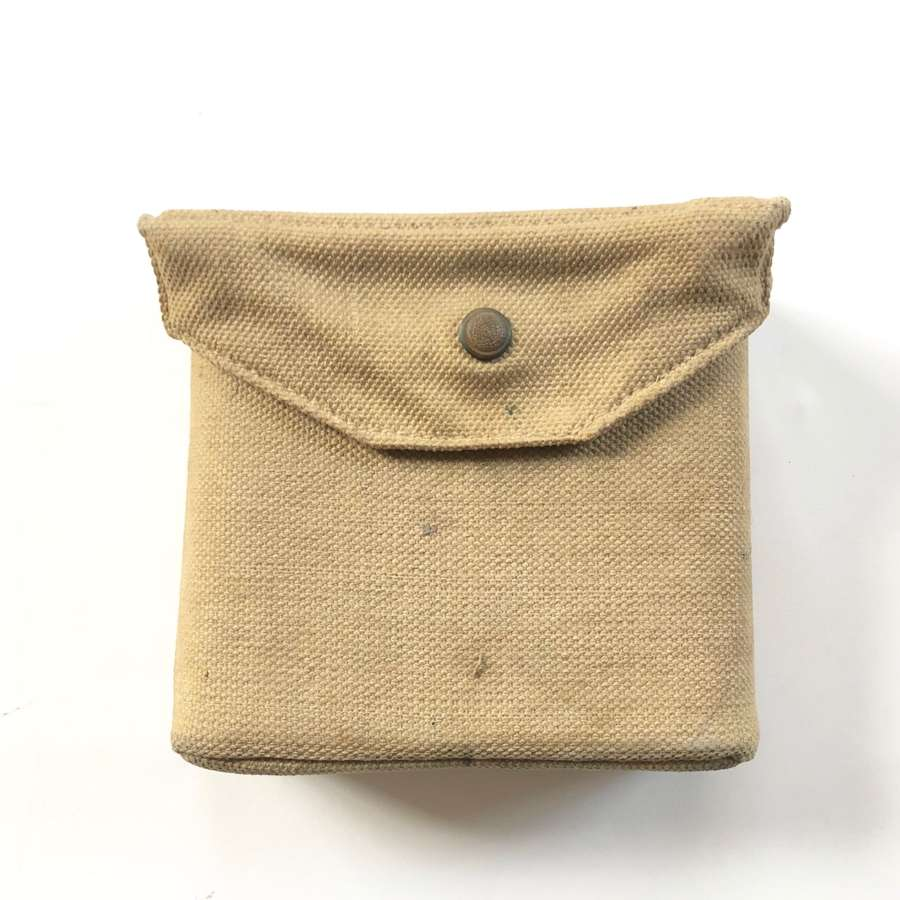 WW2 South African 1943 1st Pattern 37 Pattern Binocular Case.