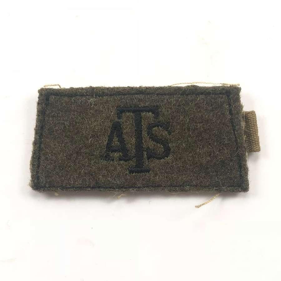 WW2 Women's ATS Slip on Shoulder Title.