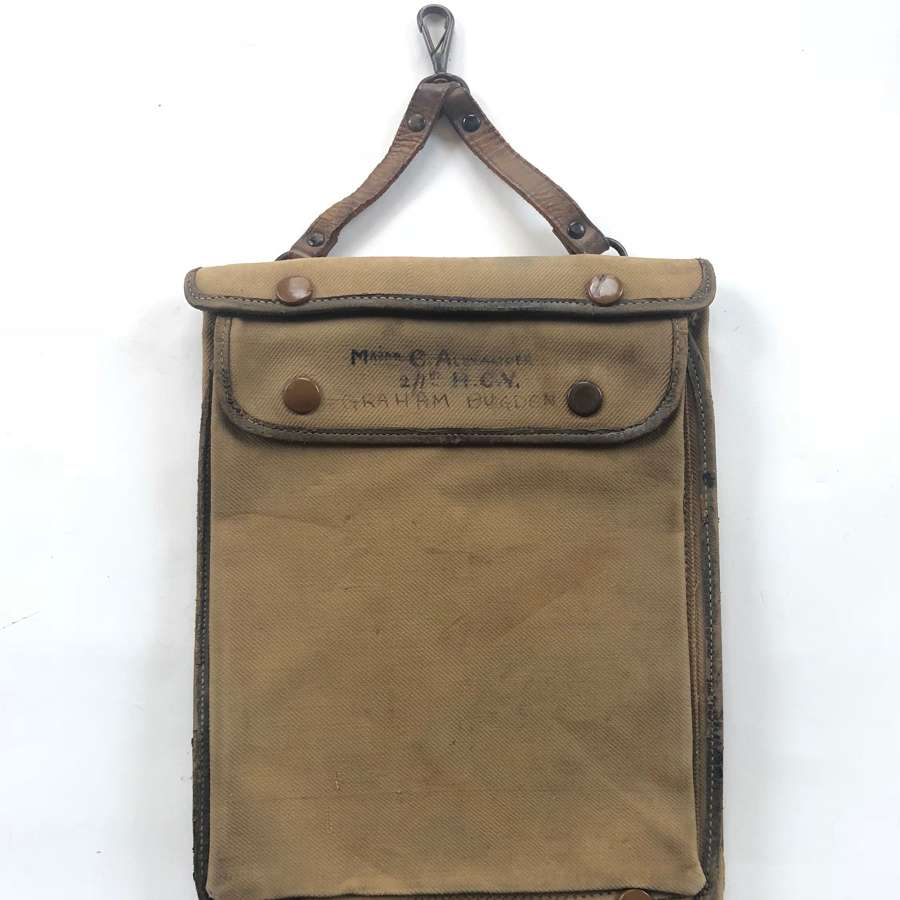 WW1 Officer's Map Case.