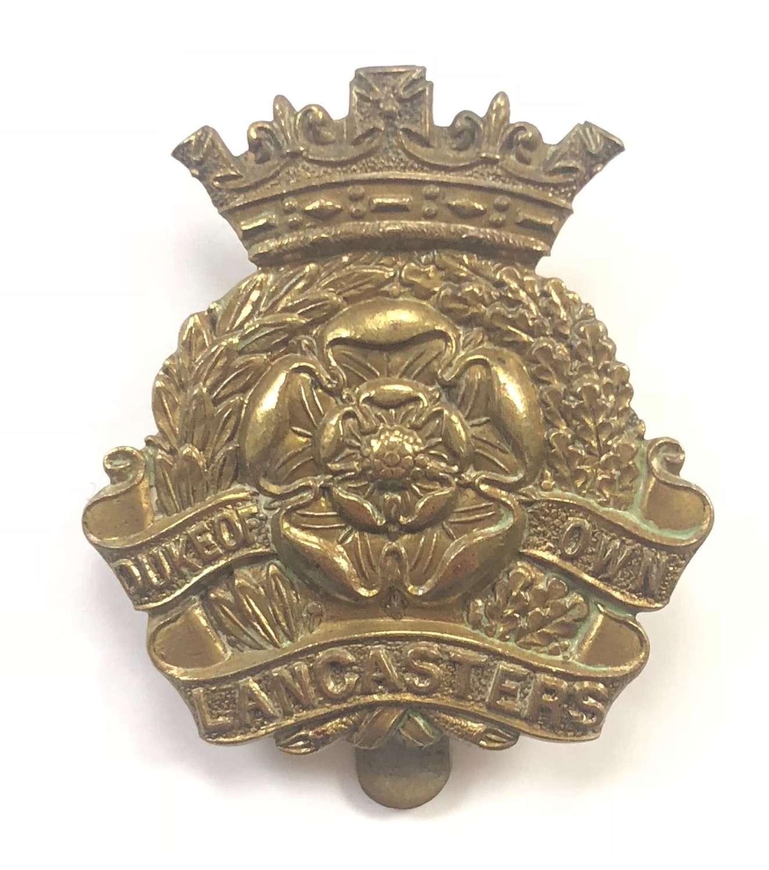 WW1 / 2  Duke of Lancashire's Own Yeomanry Cap Badge.